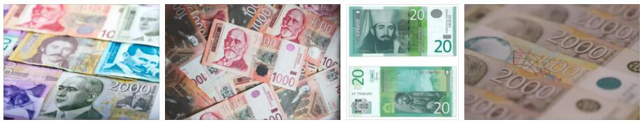 Currency in Serbia