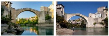 Mostar Bridge and Old Town (World Heritage)